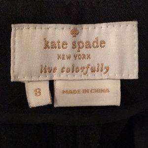 Kate Spade black pants